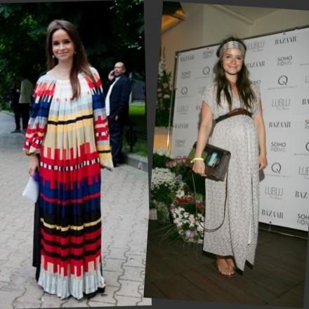 Miroslava Duma moda premamá