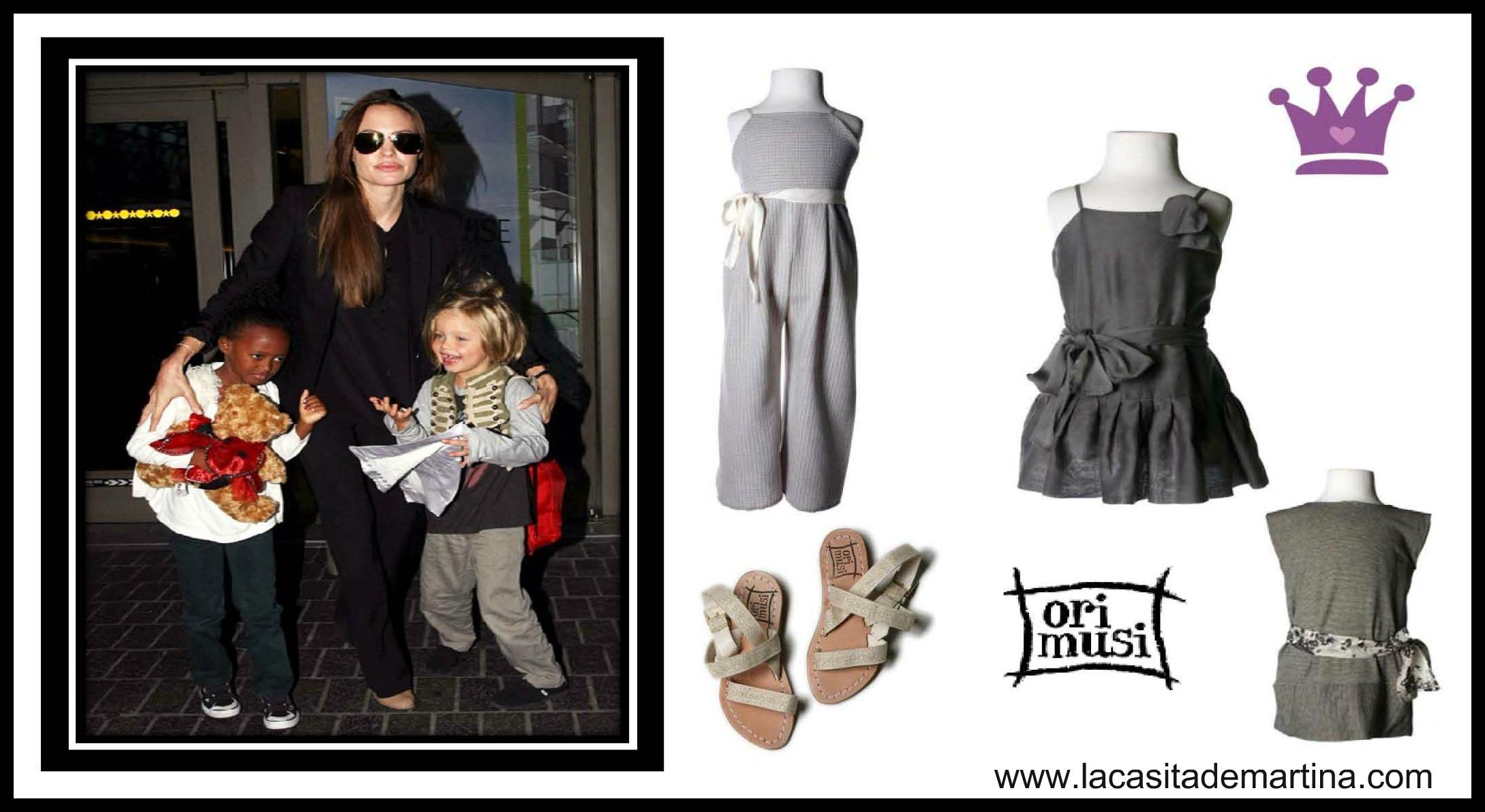 Angelina Jolie - La casita de Martina Blog moda infantil y premamá