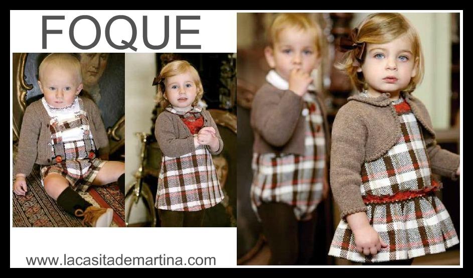 FOQUE   -    La casita de Martina BLOG moda infantil y premamá