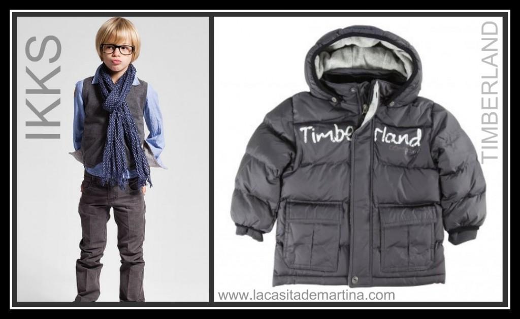 IKKS  - TIMBERLAND - LA CASITA DE MARTINA Blog moda infantil y premamá
