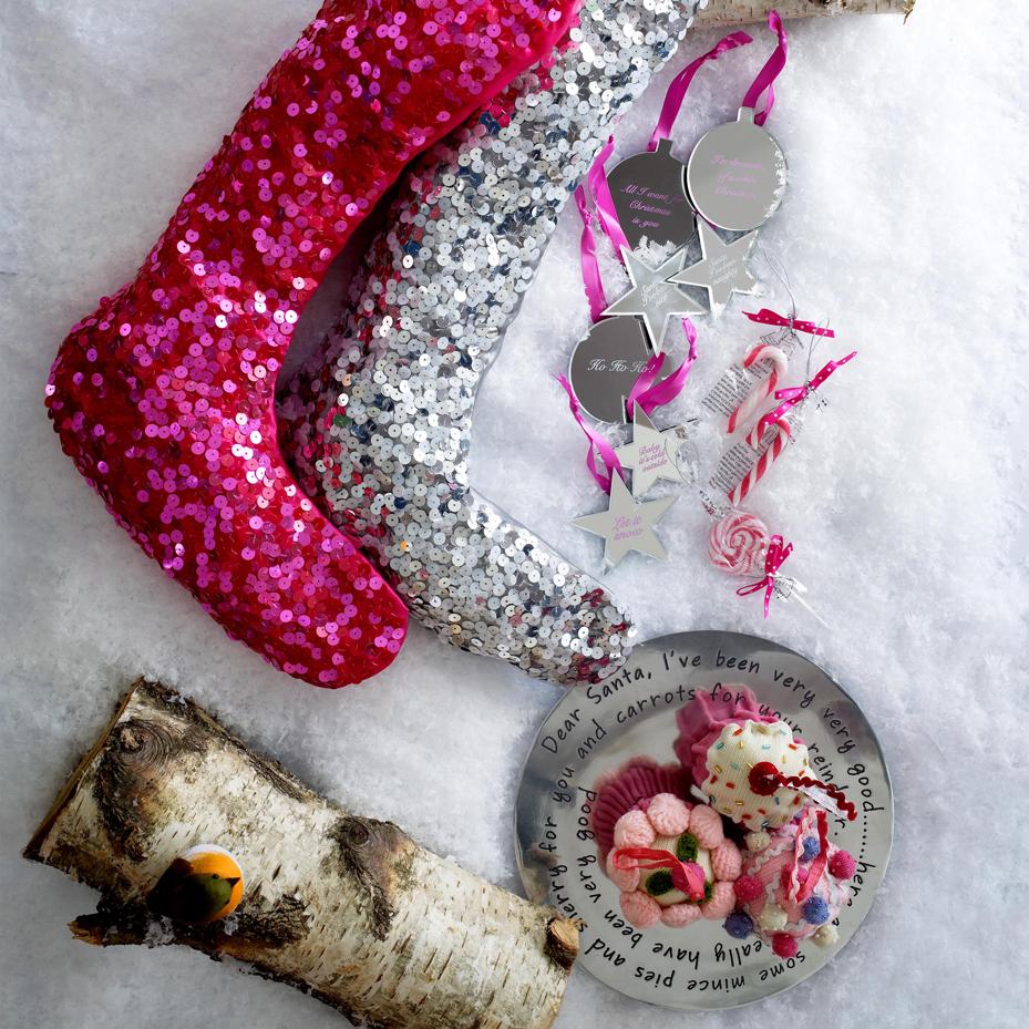 Decoración Navidad calcetines - Blog Moda infantil