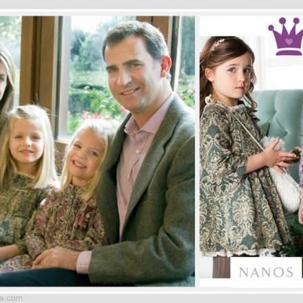 Felicitación navidad Casa Real - Infantas Leonor Infanta Sofía - La casita de Martina Blog Moda Infantil y Premamá