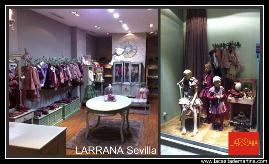 LARRANA tienda SEVILLA - La casita de Martina Blog moda infantil & premamá