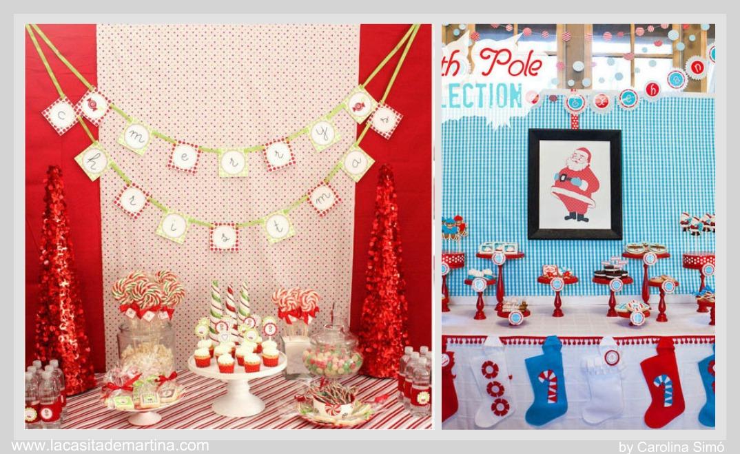 Mesas de chuches y dulces para esta navidad la - Ideas para decorar mesas de chuches ...