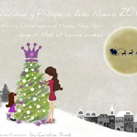 Os deseo Feliz Navidad - La casita de Martina Blog moda infantil y premamá