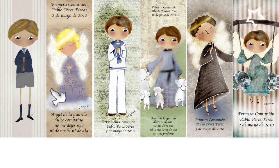 De Flor en Flor Herminia Esparza Recordatorios Comunión - La casita de Martina Blog Moda Infantil