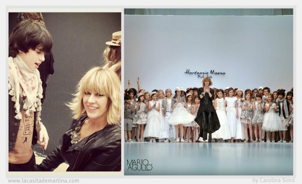 Desfile Moda Infantil Rubio Kids Valencia Fashion Week = La casita de Martina