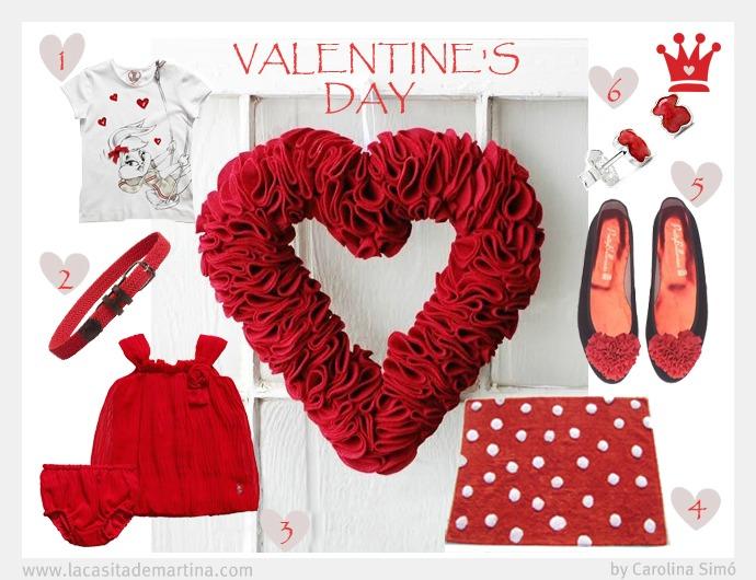 Regalos San Valentín La casita de Martina Blog de Moda Infantil y   Premamá