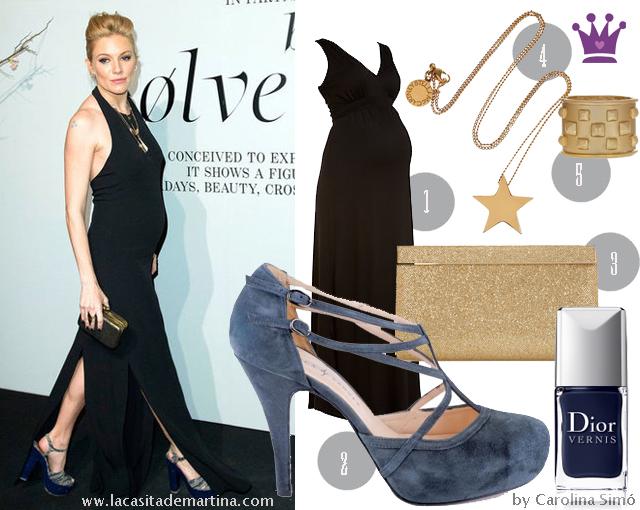 Sienna Miller look pregnacy estilismos premamá - La casita de Martina Blog de Moda Infantil