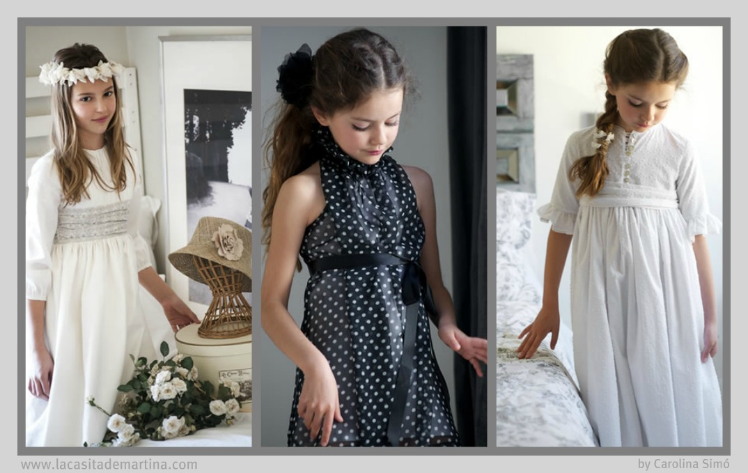 Teresa y Leticia -  La casita de Martina  Blog Moda Infantil Vestidos Comunin