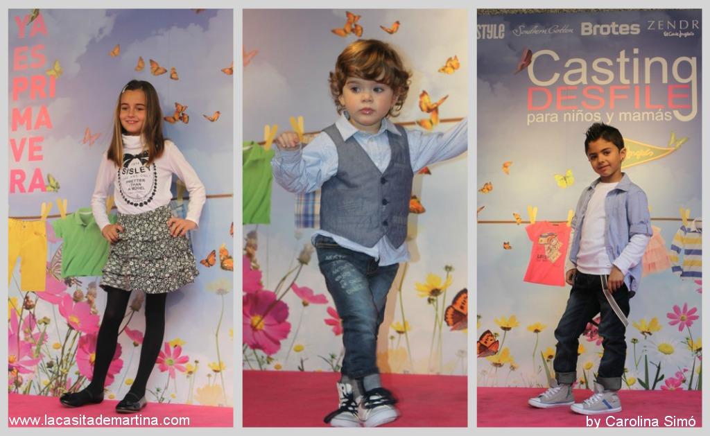 Casting desfile niños y mamás de EL CORTE INGLÉS  La casita    de Martina Blog de Moda Infantil y Premamá