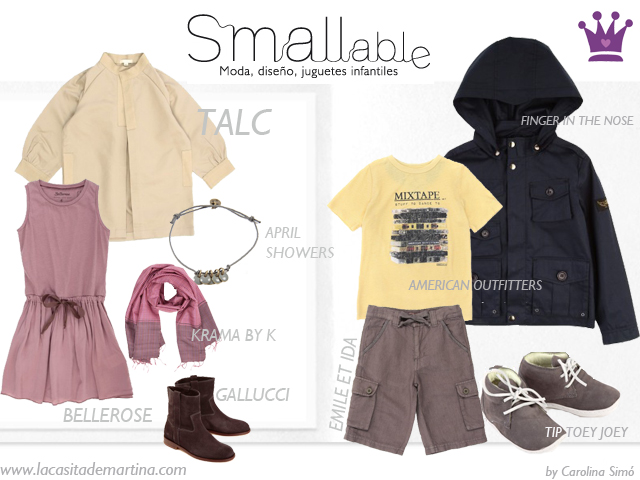 SMALLABLE - La casita de Martina Blog Moda Infantil Children Fashion trends