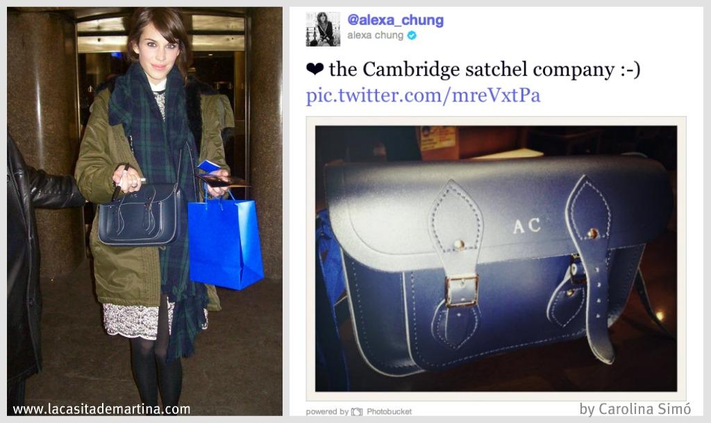 alexa chung bag SACHEL - La casita de Martina Blog Moda Infantil y premamá