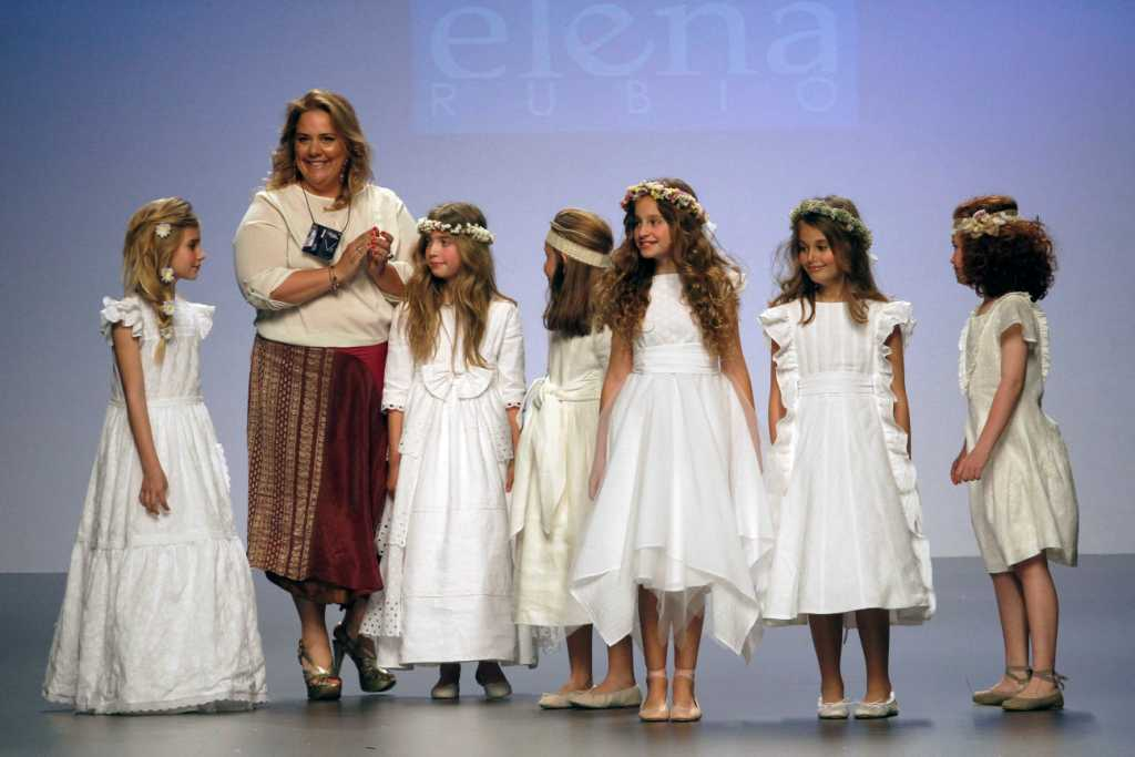 MADRID NOVIAS ELENA RUBIO desfiles comunión - La casita de Martina Blog Moda Infantil
