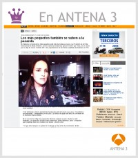Antena 3 - La casita de Martina blog de moda infantil y moda premam blogger moda Carolina Sim