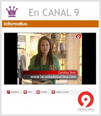 CANAL 9 La casita de Martina Blogger Moda Infantil