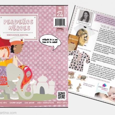 Pequeños Héroes revista de moda y ocio infantil - La casita de Martina Blog Moda Infantil