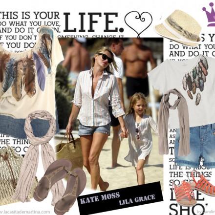 Kate Moss Lila Grace estilismos moda infantil - La casita de Martina Blog moda infantil y moda premamá by Carolina Simó