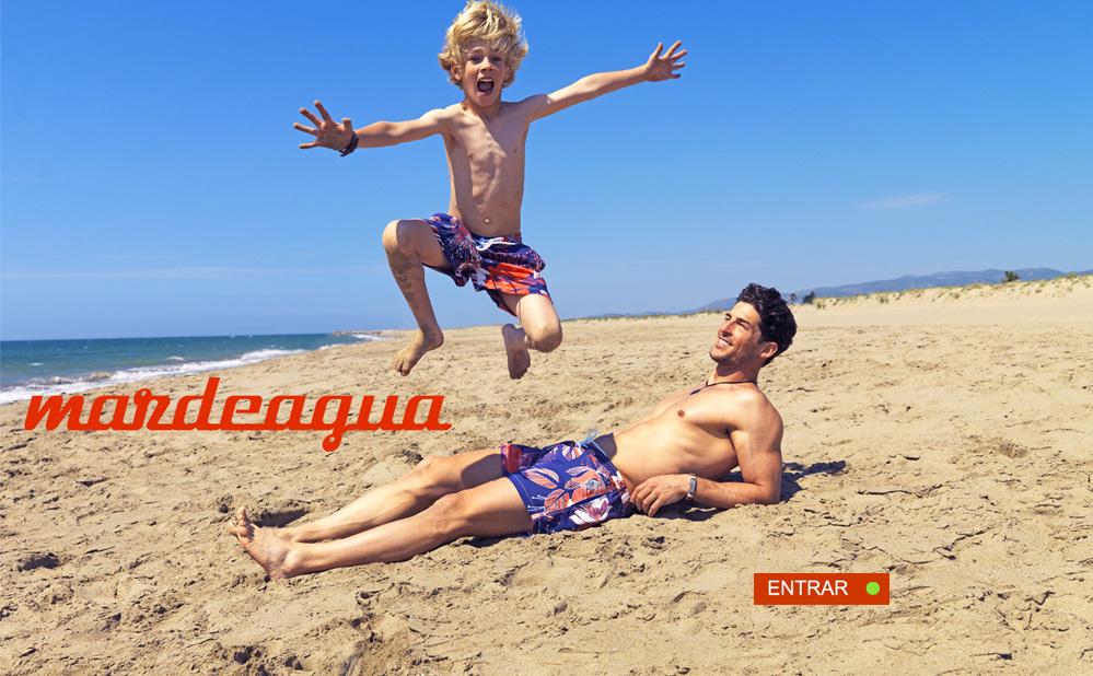 mardeagua bañadores para niños y papás a juego - La casita de Martina blog de moda infantil moda premama Carolina Simó