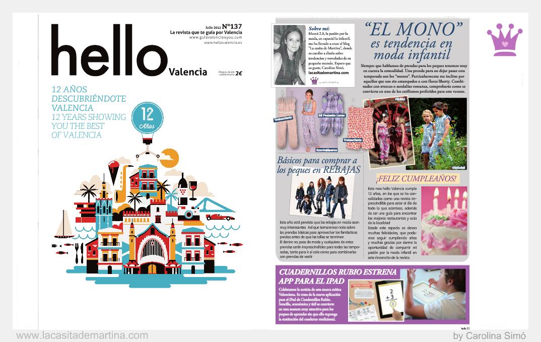 Hello Valencia 12 aniversario - La casita de Martina blog de moda infantil y premamá by Carolina Simó