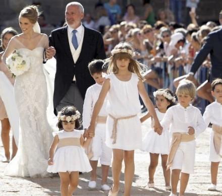 Boda Carlos Baute - Vestidos de los niños - la casita de martina blog de moda infantil
