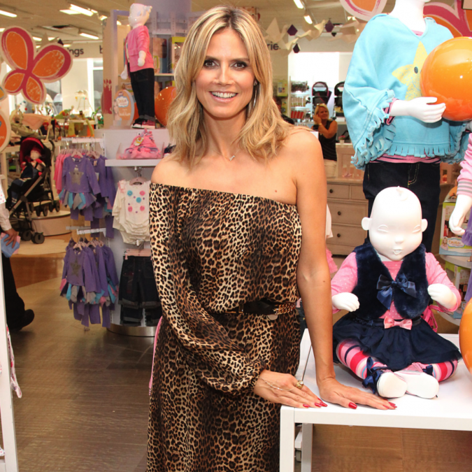 Heidi Klum, Truly Scrumptious, Blog de Moda Infantil, babyurus