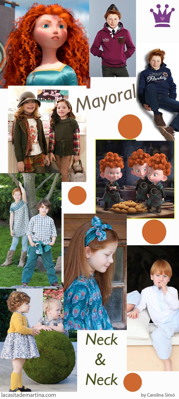Brave, Estilismos para pelirrojas, Blog de Moda Infantil, Neck and Neck, Mayoral