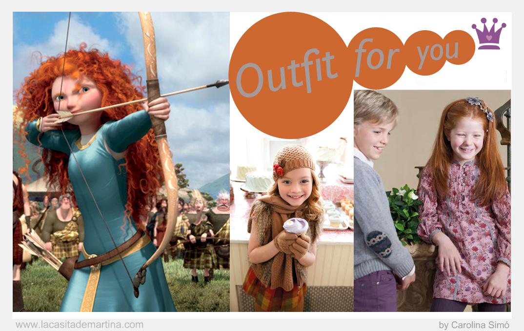 Brave, Estilismos para pelirrojas, Blog de Moda Infantil, Mayoral, Neck and Neck