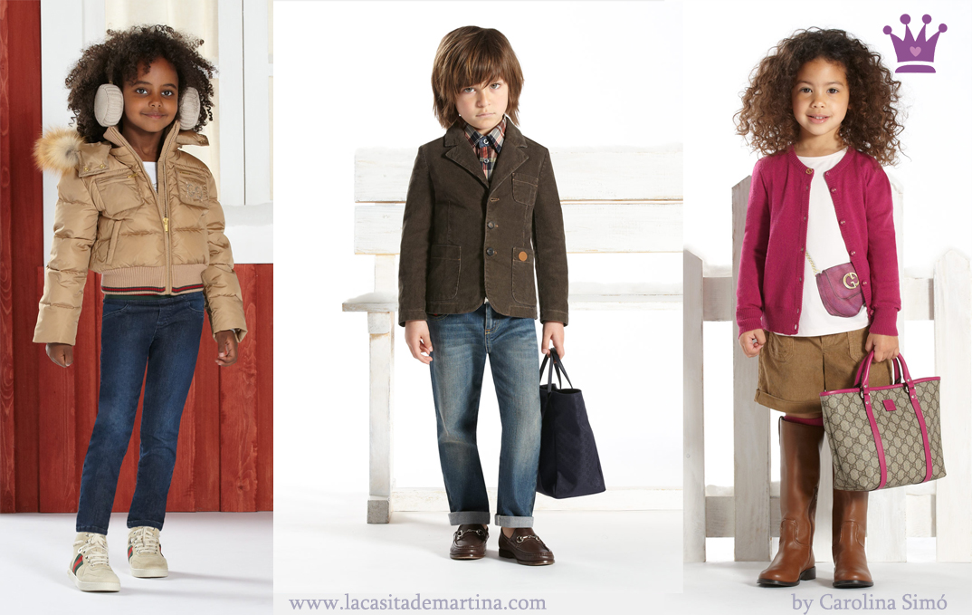 Gucci colecci n oto o invierno 2012 13 moda infantil for Sala de adultos de moda