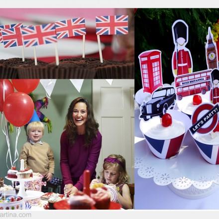 Pippa Middleton, Fiestas Infantiles, Decoración fiesta cumpleños, La casita de Martina Blog de Moda Infantil y Moda Premamá