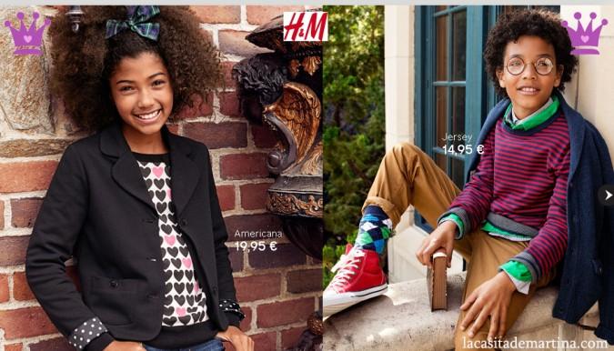 Tendencias moda infantil invierno 2012 2013 - colección niños H&M - Blog Moda Infantil y Moda Premamá