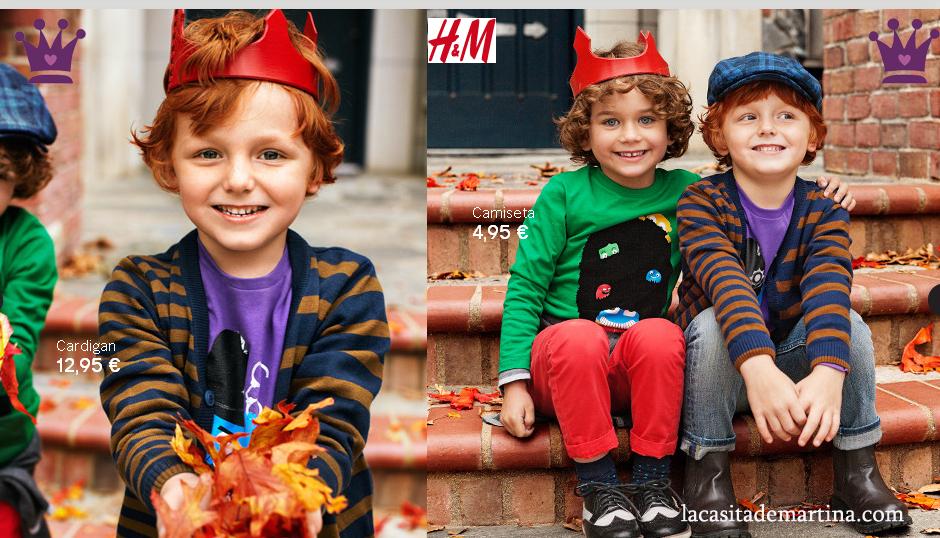 b040da760949 Tendencias moda infantil invierno 2012 2013 - colección niños H&M - Blog  Moda Infantil y Moda