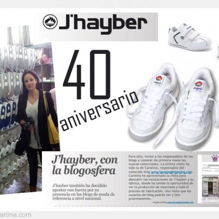 40 aniversario zapatillas Olimpo J'Hayber, Blog de Moda Infantil