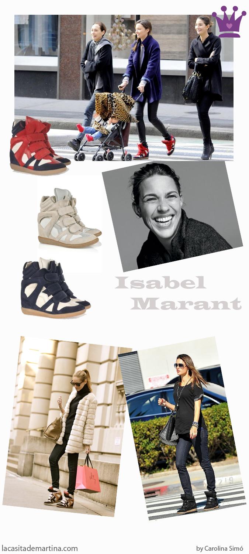 Isabel Marant, Sneakers, Blog de Moda Infantil, Miranda Kerr, Carolina Simo,  Alessandra Ambrosio, Personal Shopper para niños
