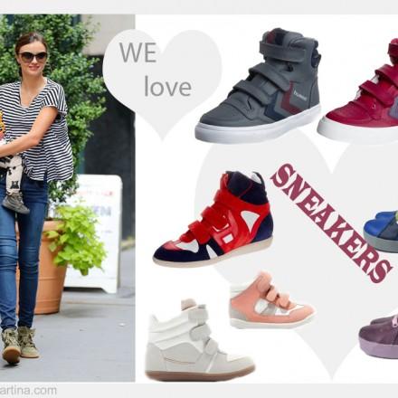 Isabel Marant, Sneakers, Blog de Moda Infantil, Miranda Kerr, Carolina Simo, Personal Shopper para niños