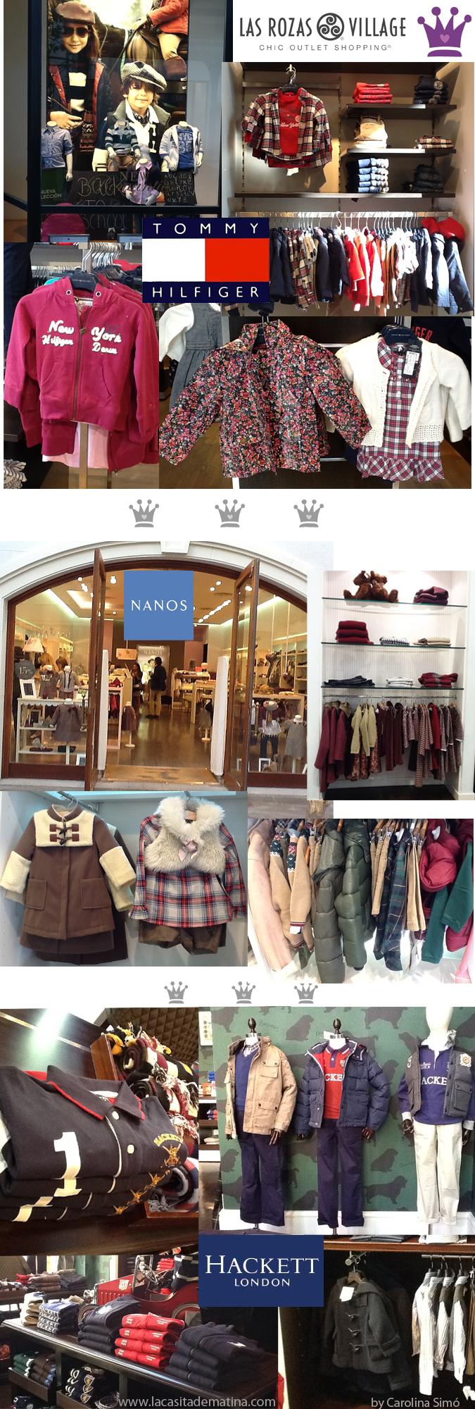 Las Rozas Village, Carolina Simó, Personal Shopper para niños. Blog de Moda Infantil, Nanos, Hackett, Tommy