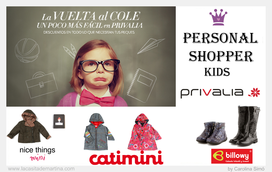 Privalia Carolina Simó Personal Shopper Moda Infantil Niños