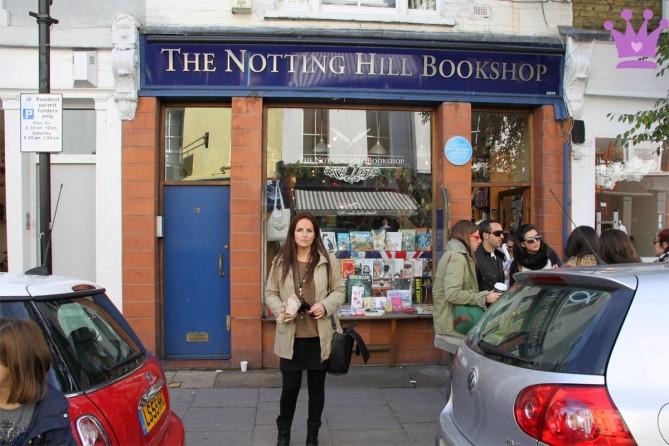 Notting Hill librería de la película, Viajar a Londres con niños, Blog de Moda Infantil