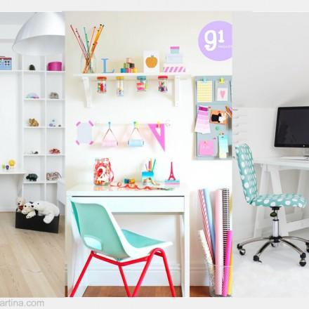Habitaciones para niños, habitaciones infantiles, zonas de estudio para niños, Blog de Moda Infantil