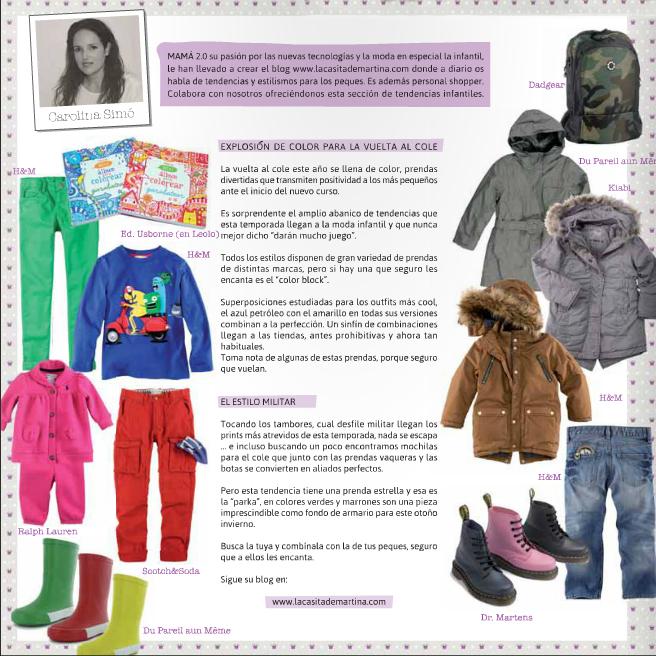 Revista Pequeños Héroes, La casita de Martina Blog de Moda Infantil y Moda Premamá