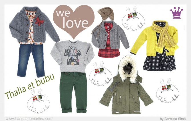 Thalia el bubu, Marcas de Moda Infantil, Carolina Simó, La casita de Martina, Blog de Moda infantil, Kids Trends, Kids Fashion, Baby Fashion