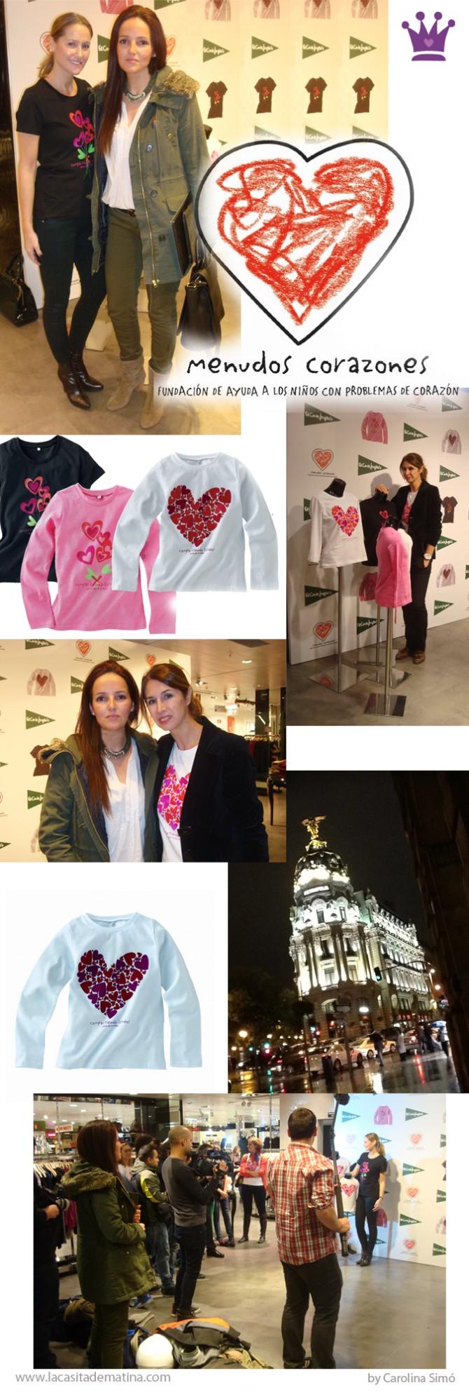 Camisetas Menudos Corazones, Fiona Ferrer, Ana García Siñeriz, El Corte Inglés, Carolina Simó, Agatha Ruiz, Blog de Moda  Infantil