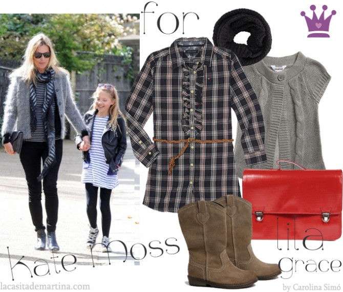 Kate Moss, Lila Grey, La casita de Martina, Blog de Moda Infantil, Carolina Simó