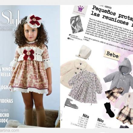 Revista Petit Style, La casita de Martina, Blog Moda Infantil, Carolina Simó