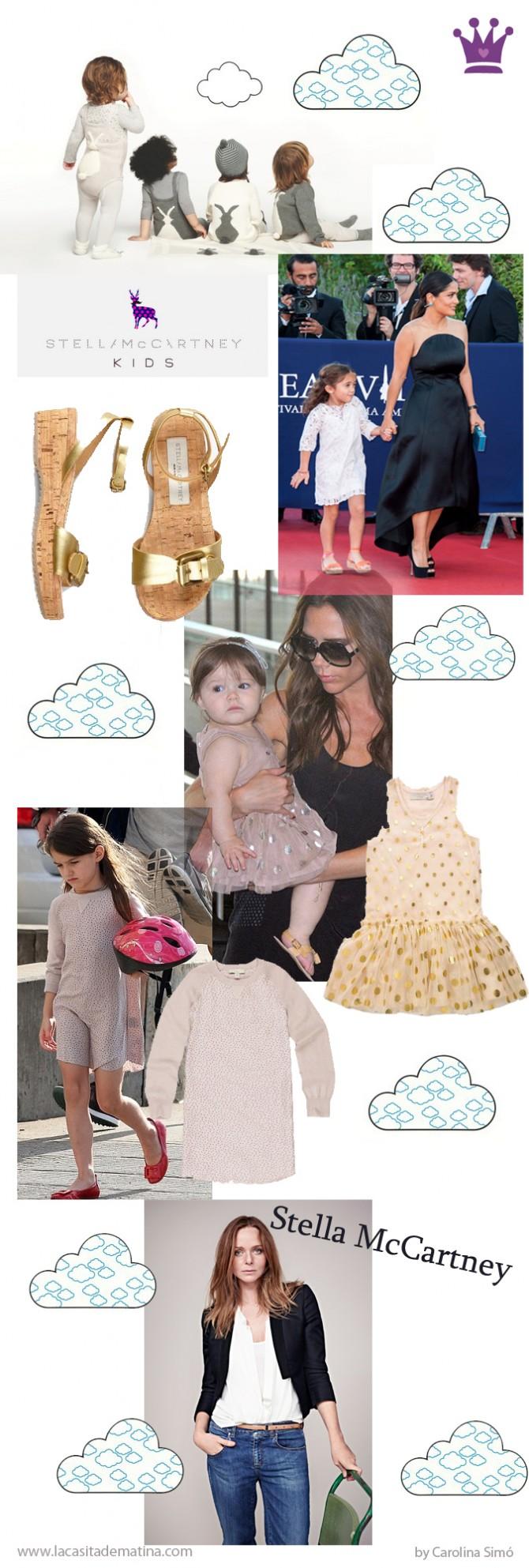 Stella McCartney, Premio Telva mejor diseñador internacional 2012, Blog de Moda Infantil, Suri Cruise, Harper Seven