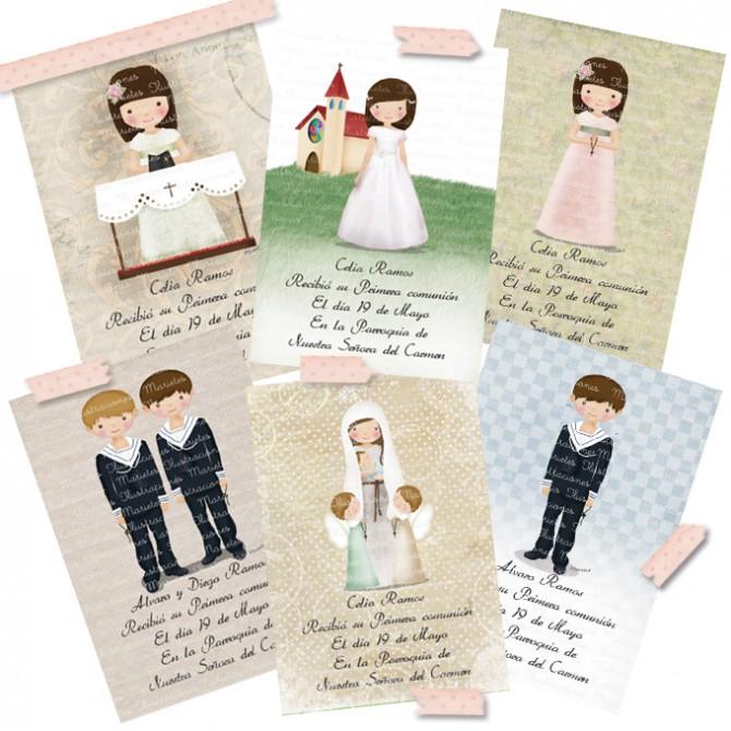 Marietes Ilustraciones, Recordatorios Comunión, Vestidos Comunión, Blog de Moda Infantil, La casita de Martina, Carolina Simó.jpg