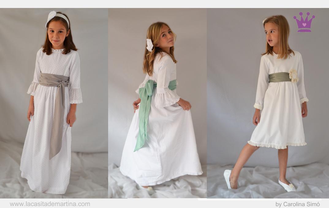 Coordinados vestidos de comunion