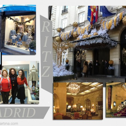 Tienda moda infantil Madrid, Hotel Ritz, Blog Moda Infantil, La casita de Martina, Carolina Simó