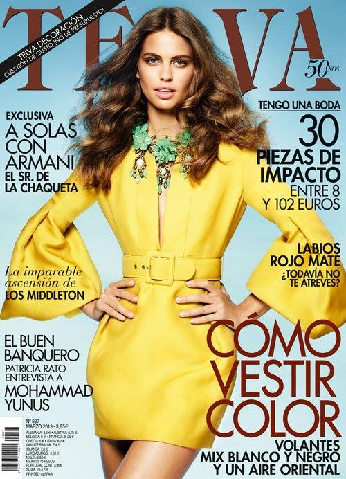 Revista Vogue, Tendencias moda Primavera Verano 2013, La casita de Martina, Blog de Moda Infantil, Carolina Simó
