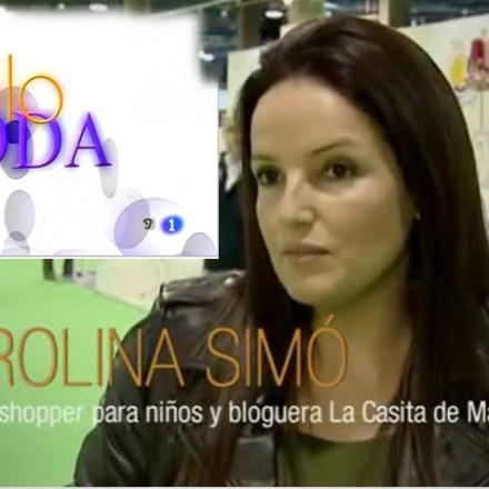 Solo moda, Tve 1, Programa Nieves Álvarez, La casita de Martina, Carolina Simó, Blog Moda Infantil